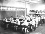 Third and fourth grade students at St. Joseph's Academy, Lakeland, Florida