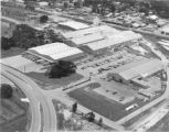 Aerial view of the Florida Tile manufacturing plant in Lakeland, Florida