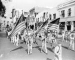 Armistice Day parade in Lakeland, Florida
