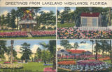 Greetings from Lakeland Highlands, Florida -- Scenes in the Smith Estate