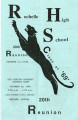 Reunion program, Class of 1969, Rochelle High School, Lakeland, Florida