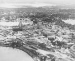 Aerial view of Lakeland, Florida