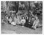 Lodwick School of Aeronautics staff and students have a picnic