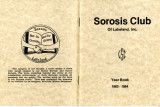 Sorosis Club Yearbook, 1983-84