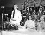 Florida Governor Spessard Holland at the Lodwick School of Aeronautics