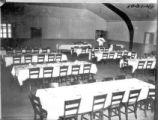 Mess hall at the Lodwick School of Aeronautics