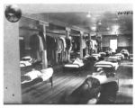 Barracks interior at the Lodwick School of Aeronautics