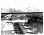 Aircraft and hangars at the Lodwick School of Aeronautics