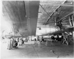 Lodwick Aircraft Industries staff convert a C-47 to civilian use