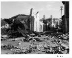 Buildings destroyed by American bombers